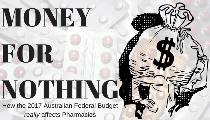 """Money for nothing, get your cheques for free"" – are retail pharmacies the winner in the federal budget?"