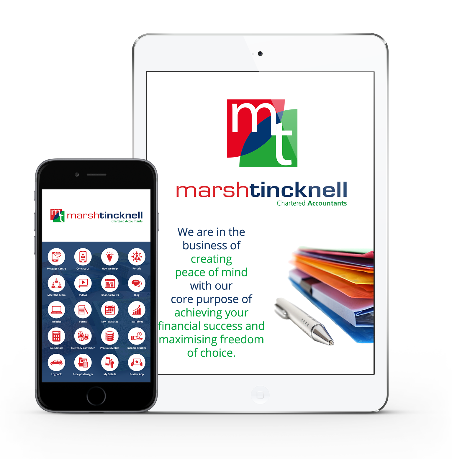 The Marsh Tincknell App - Marsh Tincknell Accountants