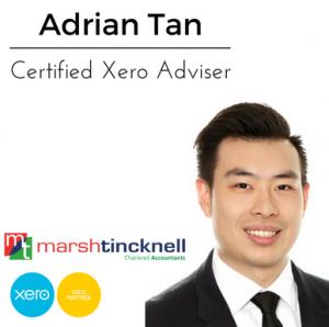Adrian Tan - Certified Xero Adviser